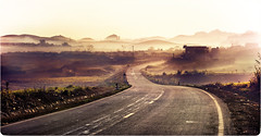 Con ng p qu :X (Ocobr10) Tags: road street mist hot alex beautiful landscape flickr view no group x con tenten soten p qu ng
