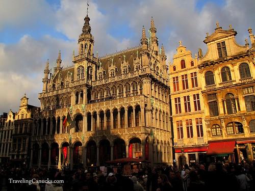 Grote Markt in Brussels, Belgium