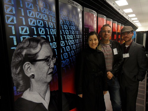 Daniela, Lev and Jeremy at NERSC