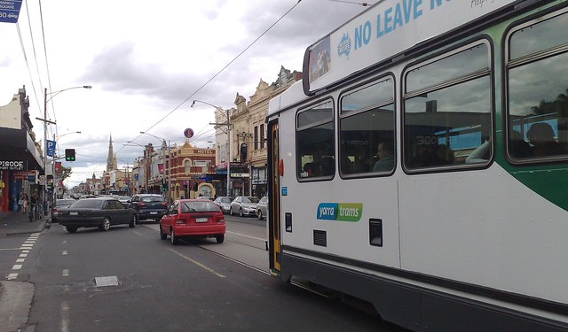 Tram on Sydney Road, Brunswick