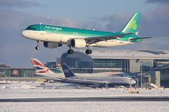 EI-DET Airbus A320 Aer Lingus (elevationair ✈) Tags: snow airbus dub aerlingus airliners a320 dublinairport eidet eidw