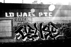 .sacred & bound (damonabnormal) Tags: street city urban blackandwhite bw philadelphia canon graffiti december tag streetphotography tags dec tagged pa spraypaint philly graff taggers phl 2010 215 tagz urbanite cense philadelphiastreetart 40d philadelphiagraffiti wallbomb philadelphiaurbanart