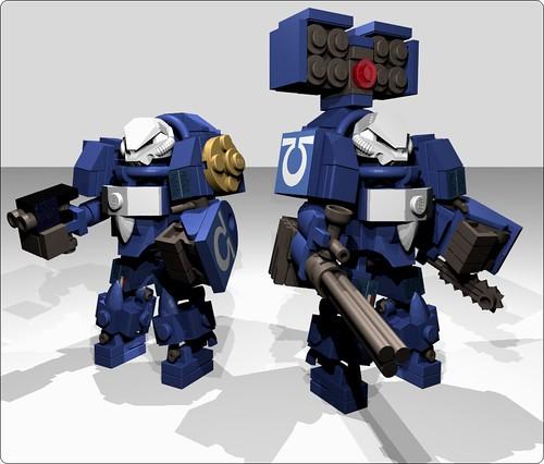 Ultramarines Terminator Squad