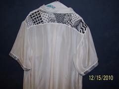 Dec 15 2010 004 (Cookie's Crafts) Tags: shirt rear silk tshirtdesign silkpainting zentangle