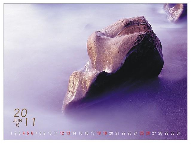 2011年自編自做的桌曆