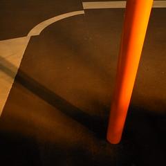 corner (noji-ichi) Tags: street light shadow orange japan night tokyo   gr ricoh    grd