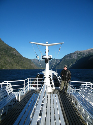 Cruising Along Lago Nahuel Huapi by katiemetz, on Flickr