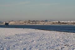 Christmas day walk - snow on the beach! (catb -) Tags: christmas ireland dublin snow beach river estuary fa malahide broadmeadow