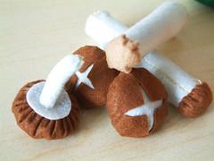 Free felt pattern-Mushroom 10