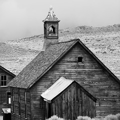 Church Goin Workin Folk, Plate 2 (Thomas Hawk) Tags: california bw usa abandoned church unitedstates unitedstatesofamerica ghosttown bodie monocounty natureshand