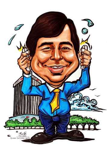 Caricature for HSBC 091210