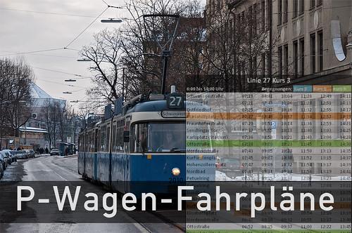 P-Wagen-Fahrpläne