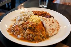 Indian Plate en Candle Cafe (Sarmale / OAyuso) Tags: nyc newyorkcity newyork uppereastside nuevayork candlecafe indianplate