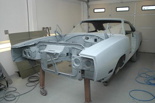 Bodywork complete - main body