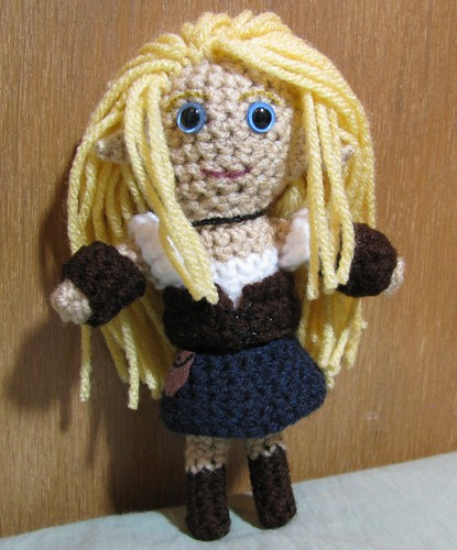 Elf girl doll