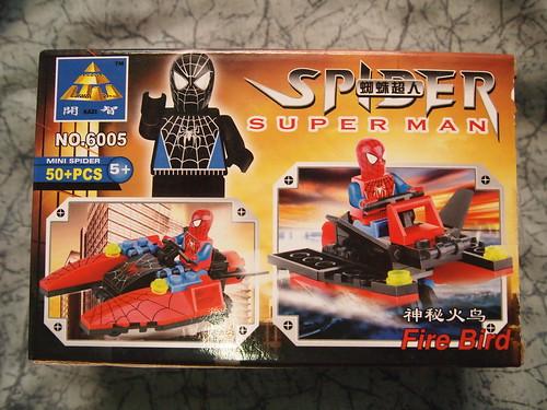 Spider Superman Fire Bird: Back