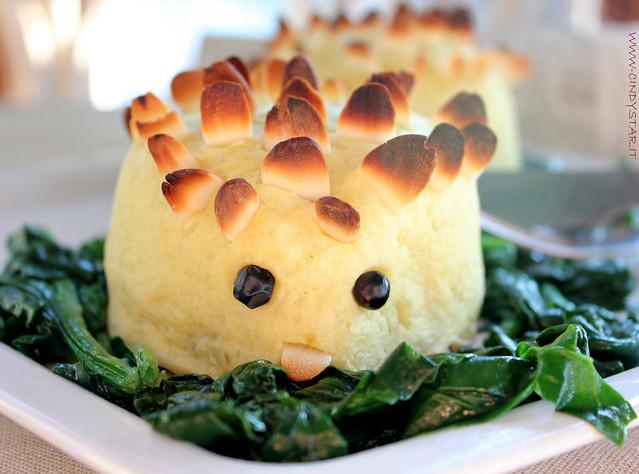 ricci di patate con cotechino e lenticchie