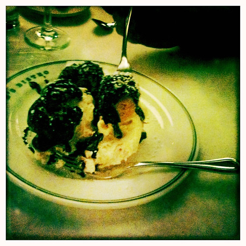 Mr B's cream puff dessert.  Oy.