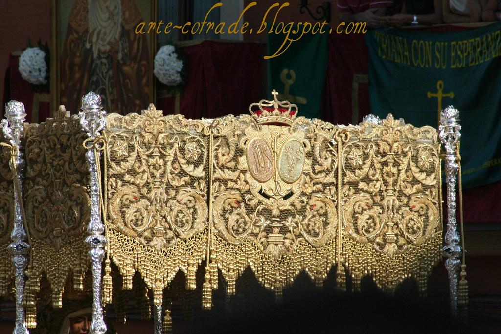 Bambalinas del palio de Nuestra Señora de la Esperanza de Triana