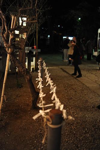 初詣@北沢八幡神社