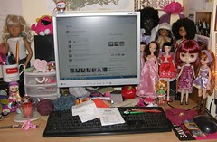My Untidy Dolly Desk! - ADAD 1/365 (JoannePerry) Tags: 1365 adad