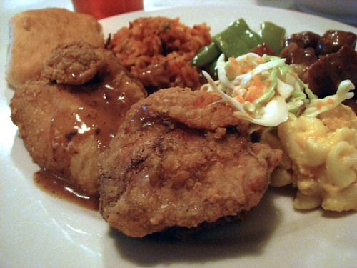 Mrs Wilke's fried chicken