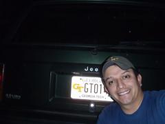 1/365, Lucky GaTech license plate.