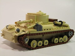Mark III Valentine Cruiser Tank (A15) (PhiMa') Tags: lego northafrica wwii ww2 british commonwealth worldwar2 desertrats northafrika cruisertank 7tharmored