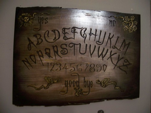 OUIJA board laser engraved 1209 by broken toys