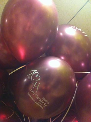 Heliumballonnen Stichting Parkhuis Dordrecht