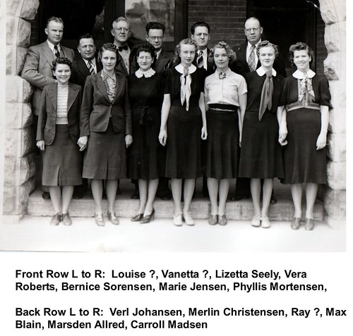 Hamilton School Teachers about 1940