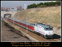 A-C-O-J-O-N-A-N-T-E!!!! (Powell 333) Tags: madrid parque espaa 3 train canon tren trenes eos 1 spain gm juan general iii rail railway carlos trains motors 7d powell motor 333 rambo comunidad 107 rama rd catalan ferrocarril renfe enlace talgo traslado 3331 ferroviario ferroviaria adif ffcc operadora nohab i 2b2 talgoiii integria talgo3 333107 raiwlays