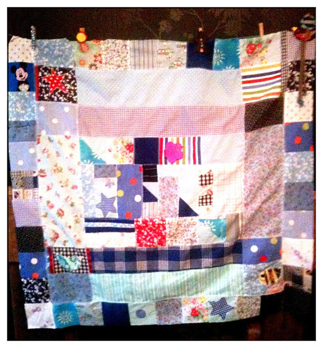 Day 2 : Working on Charlie's Quilt