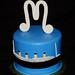 titanic mini cake
