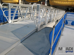 MAADI Group - Aluminum marine gangway - 03 (maadigroup inc) Tags: railroad bridge usa nature architecture golf foot design construction marine aluminum portable industrial ship quebec crane gator steel welding military navy structures floating engineering continental pedestrian structure trellis equipment architect trail pony walkway modular maritime assemble pont builders vehicle warren material easy elevated naval harbors beams corrosion platforms skyway breakwater lessard ecofriendly lifting coastlines marinas gangway contect skywalk shipbuilding retrofit truss assembler eroding passerelle lifters spreader flottant attenuator prefabricated fabricator facile bridgespan modulaire enwood surespan