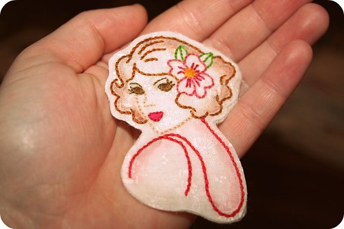 Pretty Girl Pin for Shane!