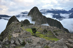 early morning machu picchu
