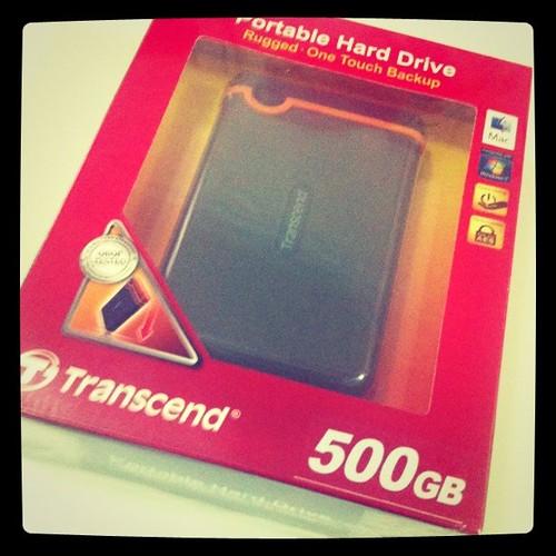 Portable Hard Disk 500GB sumbangan Primeworks Studios