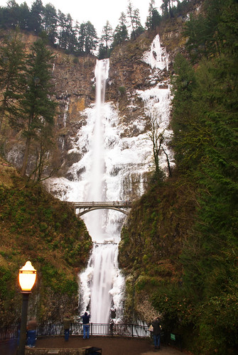 Multnomah Falls - Somewhat Frozen