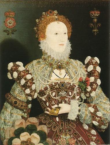 young queen elizabeth i portrait. queen elizabeth ii coronation