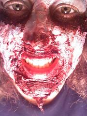 2010 Hayride (sarahb_86) Tags: halloween zombie makeup latex fakeblood