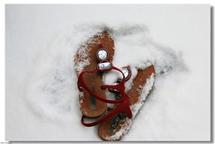 Day 8: White sand?! (Jan 8, 2011) (Amberyz) Tags: red vacation snow sandals tropical whitesand sandal project365 paradize