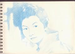 Takamine Hideko san. 高峰秀子さん。