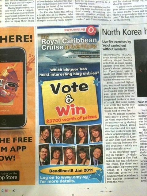 omy contest ad