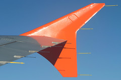 EasyJet - G-TTOE wing tip (Andrew_Simpson) Tags: sky inflight wing airbus easyjet a320 wingtip 320 a320200 wingview ezy fwwdh gttoe