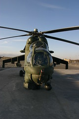 Hind-D Head On (California Will) Tags: afghanistan attack helicopter gunship mi24