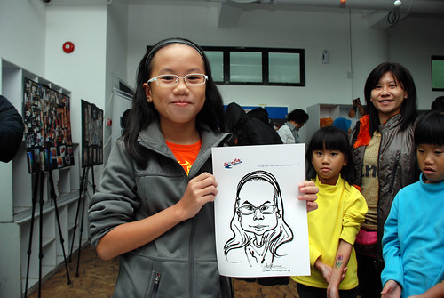 Caricature live sketching for Snow City - Day 8 - 19