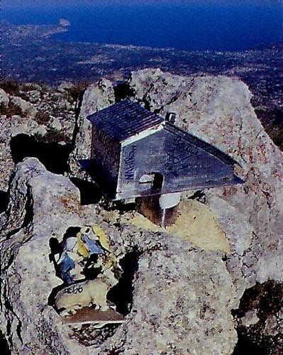 Imagen de la cima del Puig Campana