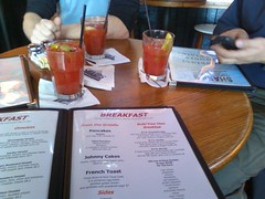 Sharp's for bloodies & breakfast