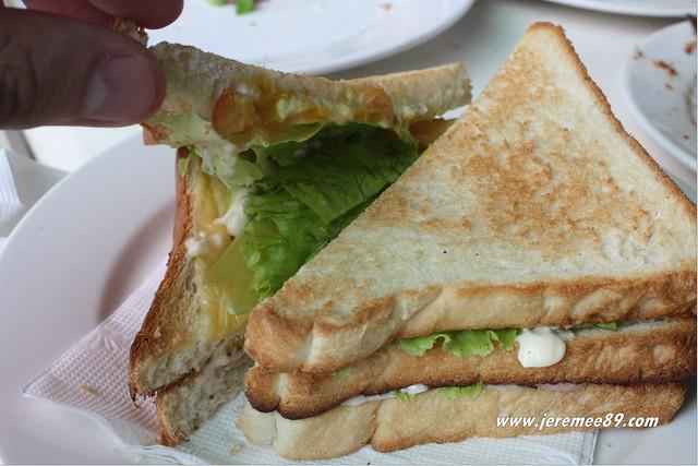 Artisans Pizza @ Langkawi - Sandwich - Tuna & Mayo & Onions